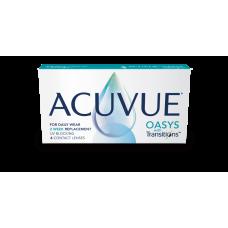 عدسات اكيوفيو اويسيس ترانزيشين ACUVUE® OASYS with Transitions™